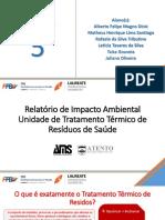 Relatório de Impacto Ambiental - Grupo 5