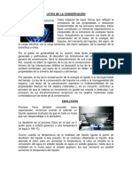 LEYES DE LA CONSERVACIÓN, EBULLICION, FUSION, LEY DE CONSERVACION DE ENERGIA.docx