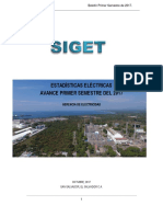 Avance Boletin Estadisticas Electricas - Primer Semestral de 2017 v 1.0