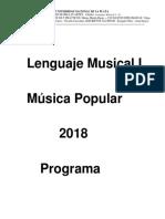 Lenguaje Musical I y II