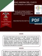 Sensibilizacion UAC-reacreditacion Institucional