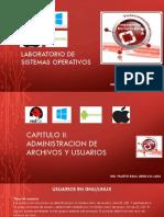 Lab-so- Administracion Archivos y Usuarios- 2018 Ciclo II