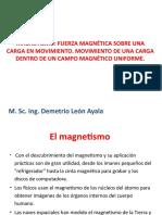 16 Julio Clase 11 Magnetismo