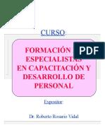 FORMACIÓN CAPACITADORES
