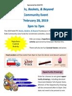 pfc fundraiser feb 28 2019 flier