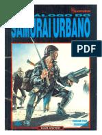 Shadowrun - Catálogo Do Samurai Urbano