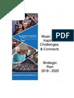 SweetWater Strategic Plan 2018 - 2020