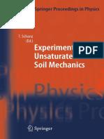 [Tom Schanz] Experimental Unsaturated Soil Mechani(B-ok.org)