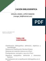 CLASE 2 - CLASIFICACION - BIBLIOTECARIOS