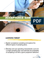 Acceptance Sampling