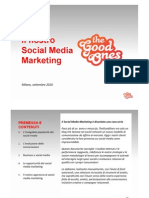 TheGoodOnes - Il Nostro Social Media Marketing