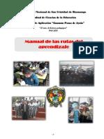 Manual de Rutas Del Aprendizaje