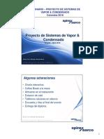 Seminario Industria - Proyecto de Sistemas de Vapor & Condensado -Final