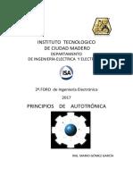 PRINCIPIOS DE  AUTOTRÓNICA - ISA