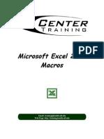 Excel2003 Macros Handout