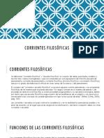 2. Corrientes Filosóficas en General (1)