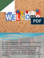 Presentation HRDI