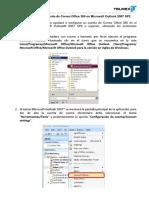 Configuracion POP de Office 365 en Outlook 2007