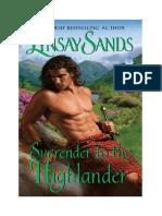 Lynsay Sands - Rendirse Al Highlander