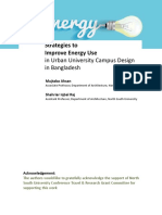 Energy Use Study of North South University Campus