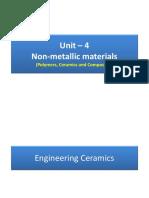Unit 4 -Engineering Ceramics