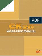 Kioti Daedong CK20H Tractor Service Repair Manual.pdf