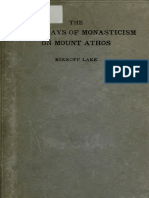 Kirsopp Lake Inceputuri Athos