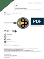 Lapp_pro100890en - Cabluri Olflex Classic 110 - 3g1,5-65g1,5