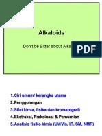 Hand Out Fitokimia Alkaloid 16 Des 2016