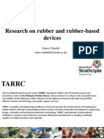 Tubaldi's research on rubber