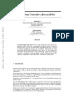 Conditional Generative Adversarial Nets