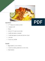 Cara Menbuat Nasi Kuning
