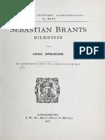 1907-Sebastian Brants Bildnisse (J. Springer)