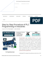 How to Program the Programmable Logic Controllers