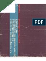 La composition Francaise au baccalauréat et aux examens supérieurs de Lettres (tome III), de Pierre Michel