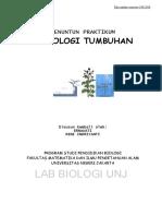 Fisiologi Tumbuhan Pendidikan Biologi