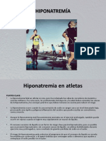 Hiponatremía