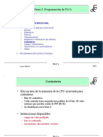 Programación de PLCs Contadores