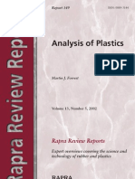 Analysis of Plastics, Vol. 13 (2002)