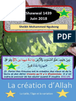 La Creation de Allah(Swt)