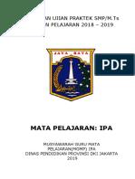 Panduan Ujian Praktek Ipa Smp Dki Jakarta 2018-2019