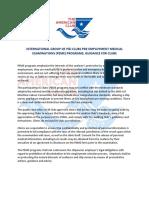 IG PEME Guidelines