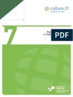 Patrimonio cultural y ciudades sostenibles - Agenda 21 de la Cultura