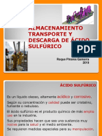 ACIDO SULFURICO PRESENTACION