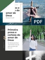 7 provas do amor de Deus - 1 mensagem