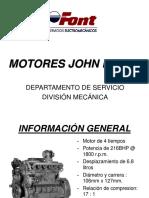 Motor John Deere - Serie 6068UP