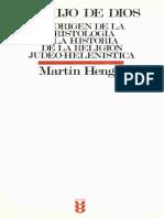 El hijo de Dios, Martin Hengel.pdf