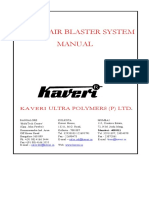 Operation & Maintenance Manual of Air Blaster System