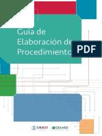 Guía de Elaboracion de Procedimientos