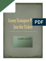 Green Transport Plan